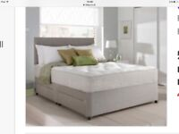 Kingsize Divan Bed and Mattress unopened and still in packaging