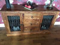 Table chairs sideboard