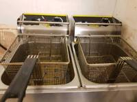 Buffalo commercial fryer