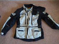 RST Adventure Textile Motorcycle Jacket (Size L)