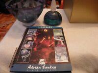 Adrian Sankey handmade glassware-boxed& unused