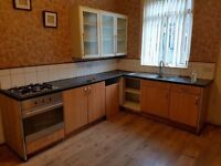 kitchen unit and worktop inc cooker sink and tap only £70.00 ++ BARGAIN ++