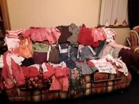 Bundle of baby girls winter clothes 12-18 months