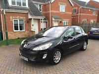 2009 PEUGEOT 308 12 MONTH MOT FULL SERVICE HISTORY LOW MILEAGE FULL HPI CLEAR CROUIS CONTROL