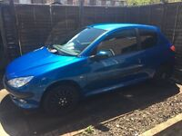 Peugeot 206 - £800 or near offers