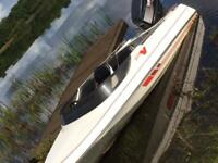 Speedboat 90hp Yamaha outboard, boat , trailer
