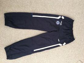 Men's size small Chelsea football jogging bottoms