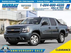 2012 Chevrolet Avalanche *4WD CREW CAB LS, TRAILERING PKG, POWER