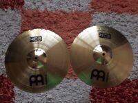 """Meinl Hcs Hi hat 14"""" cymbals in excellent condition."""