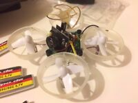 Blade Inductrix RTF Nano RC Quadcopter with TINY WHOOP FPV Mods