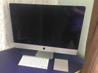 """27"""" iMac (late 2012) - 2.9 GHz, 1TB HDD, 8GB RAM, slim design"""