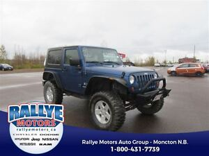 2009 Jeep Wrangler X! 4WD! Alloy! Trade-In! Save!