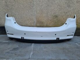 Mazda 6 GJ 2015 REAR BUMPER GENUINE Arctic White