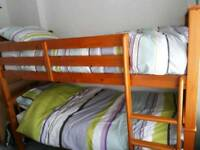 Solid Wooden bunk beds for sale