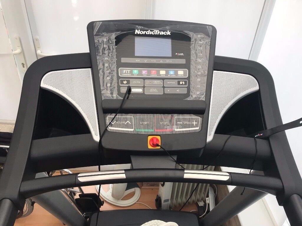 Nordic track T9.2 folding treadmill