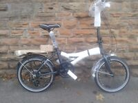 NEW Dawes KINGPIN 2016 Folding Bike - Aluminium Frame - RRP £499