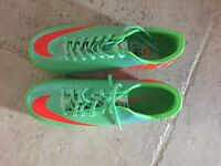 Football Boots : Nike Mercurial Victory IV TF Lime