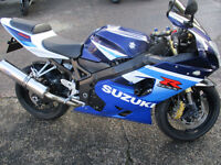 SUZUKI GSXR600 K5 55 PLATE VERY LOW MILEAGE