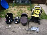 3in1 Mamas&Papas travel system