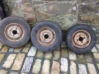 Mini rims and tyres