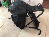 Abu Garcia fishing seat and rucksack