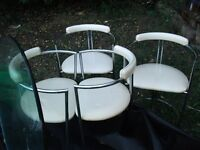 Dining Table, four chairs.