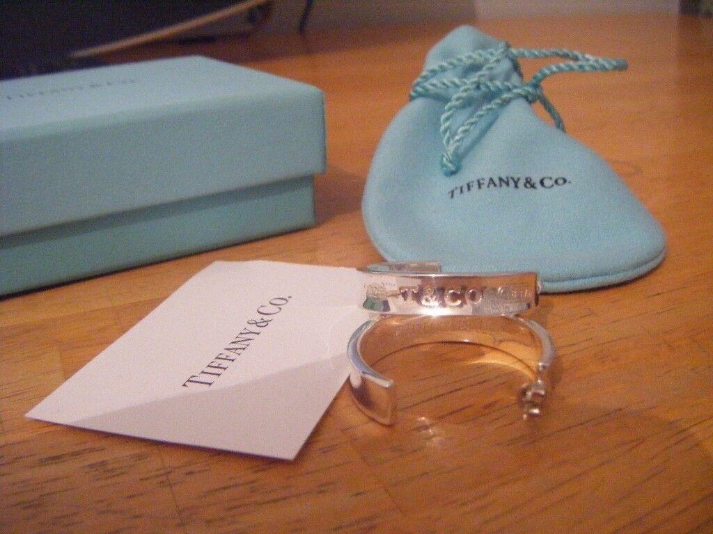 cd9903575 Vintage Tiffany & Co Large 1837 Hoop Earrings | in Dalkeith ...