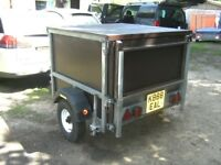 GALVANISED 4X4X3 BOX TRAILER (500KG) VERY STRONG TRAILER....