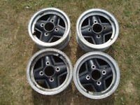 4 off Revolution mini wheels.