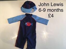 6-9 Months Boy's Swim Wear