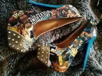 Custom made Wolverine heels