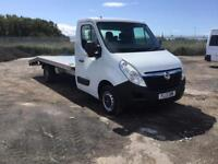 2013/13 VAUXHALL MOVANO F3500 L3H1 125 BHP RECOVERY TRUCK BRAND NEW 16FY ALLOY BODY NO VAT...
