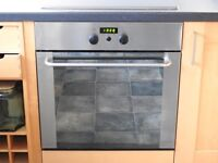 WHIRLPOOL BUILT IN ELECTRIC OVEN AND HOB