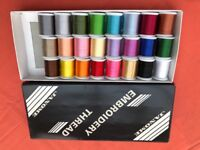 Boxed Janome embroidery threads