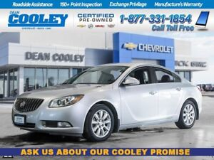 2012 Buick Regal CXL/SUNROOF/HTD FRONT SEATS/REAR PARK ASSIST/