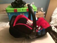 Britax first car seat