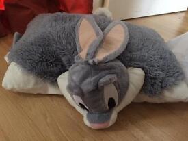 Bugs bunny pillow pet