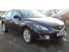 2009 mazda 6 2.0 petrol with only 70000 miles, motd august 2018