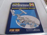 STAR TREK U.S.S. ENTERPRISE HAYNES MANUAL