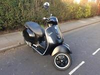 Vespa GTS 300 super sport in Matt black in excellent condition . Must see