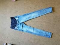 maternity jeans size 8 Eu size 36