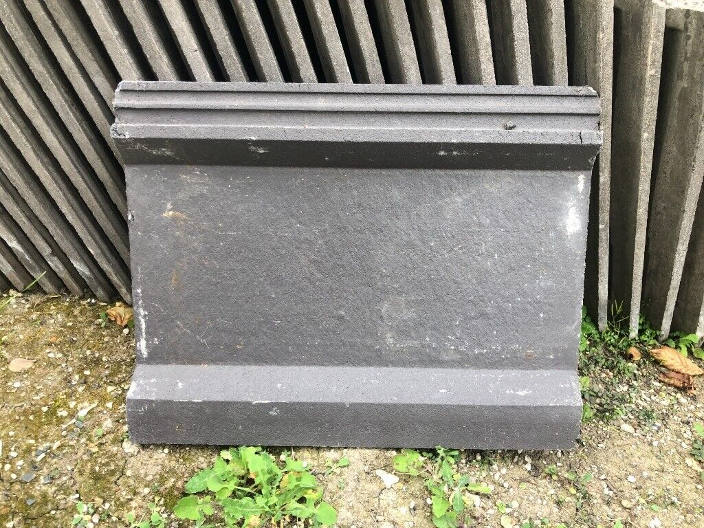 Marley Wessex Interlocking Concrete Nearly New Roof Tiles Approx 75 In Dark Grey Black In Chesterfield Derbyshire Gumtree