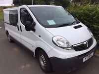Vauxhall Vivaro Crew Combi LWB 2011 Van No VAT