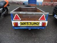 Wooden Car Trailer