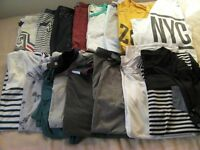 16 Mens T-Shirts Size Medium