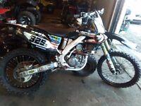 Honda crf250 2008