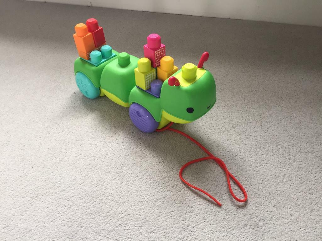 Mega blocks caterpillarin GloucestershireGumtree - Musical pull along mega blocks caterpillar. Great condition fully working. Good fun