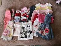 Girls clothes 1-2 year
