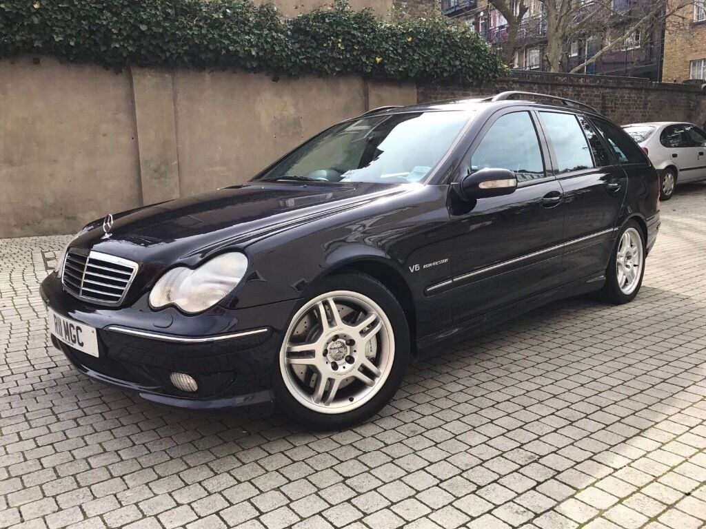 mercedes c32 amg estate high spec 2 owners from new beautiful condition in enfield london. Black Bedroom Furniture Sets. Home Design Ideas