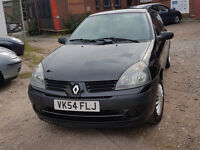 Reno Clio- Full MOT ( expires June 2018), Clean in and out. Runs very smoothly.